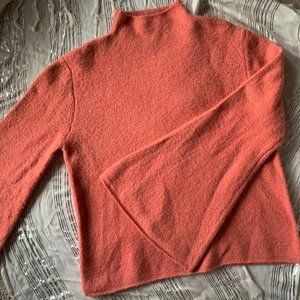 Pink wool bell sleeved sweater Forever 21 size M